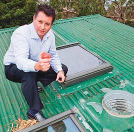 acrylic skylight repair