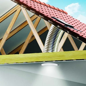 Velux sun tunnel skylight solartube
