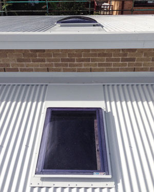 replacement for traditional skylight