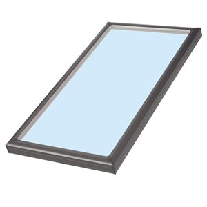 Flat roof Velux skylight