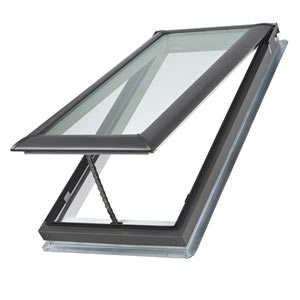 manual velux skylight