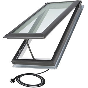 electric operated velux skylight