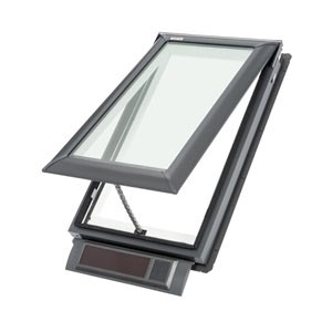 solar powered velux skylight